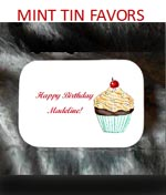 Birthday Party Large Hinged Mint Tin Favors