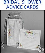 Bridal Shower Advice Cards and Activity Gift Set