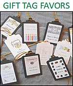 Gift Hang Tag Favors custom personalized