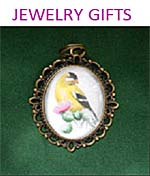 Jewelry Filigree Pendants in Silver and Gold for bridesmaid bridal party bird lover gifts