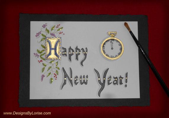 Calligraphy Illumination Manuscript