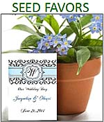 Flower Seed Favor Packets