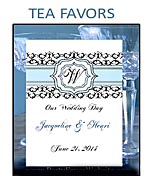 Wedding Tea Packet Party Favors