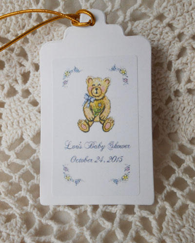 Hang Tag Favor Gifts Personalized Free, adds a custom look and ...