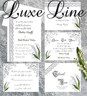 Wedding Invitations Designs by Lorise