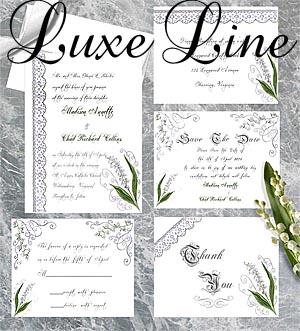 Wedding Invitations Designs by Lorise