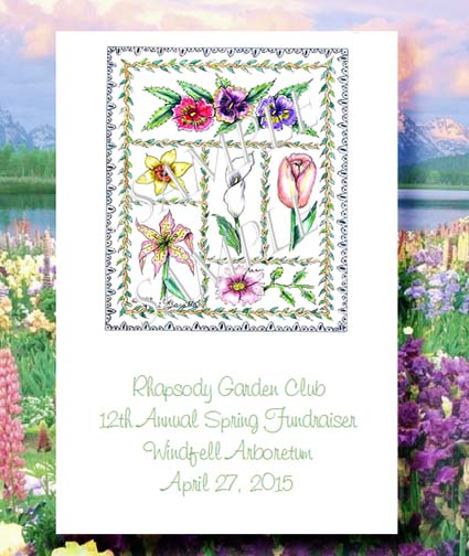 Flower Rhapsody Spring Flowers Seed Favor Packets