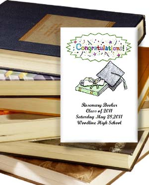 Congratulations Graduate Graduation Party Tea Packets & Seed Favors