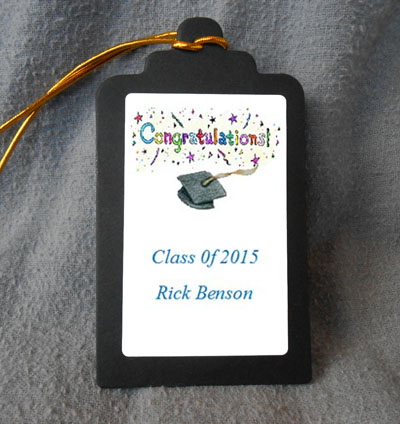 Graduation Gift Favor Hang Tags