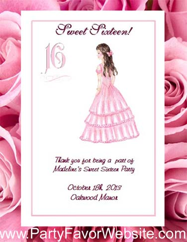Sweet Sixteen Seed Favors