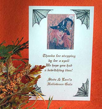 Hecuba the Witch Halloween theme Seed Favors & Tea Packets